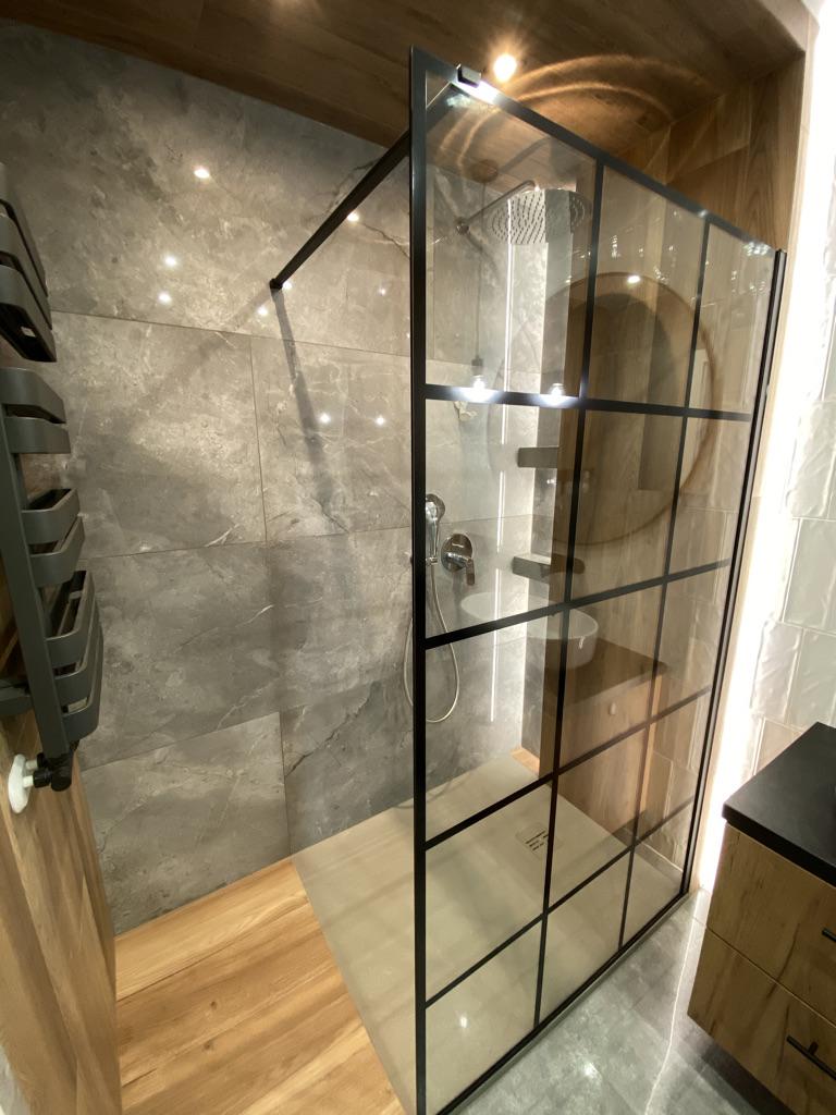wykończenia wnętrz Kraków kabina prysznicowa