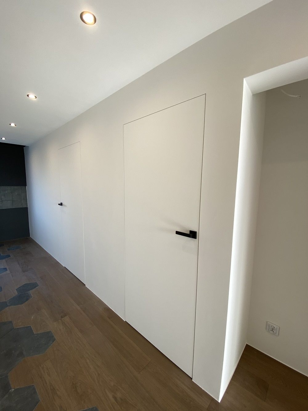 korytarz w minimalistycznym stylu